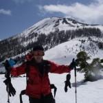 熊沢田代から山頂
